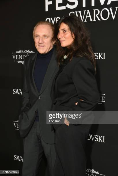FrancoisHenri Pinault CEO of Kering France and Vogue editor in chief Emmanuelle Alt attend the 'Vogue Fashion Festival' Opening Dinner on November 23...