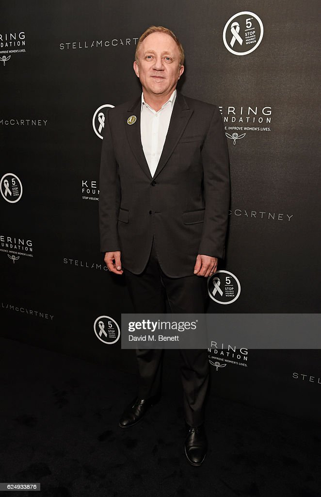 Francois-Henri Pinault, Chairman and CEO of Kering, attends a VIP screening of the award-winning documentary 'Sonita' hosted by Francois-Henri Pinault, Salma Hayek-Pinault and Stella McCartney as part of the Kering Foundation's annual White Ribbon For Women campaign which runs from November 18th to 27th at BAFTA on November 21, 2016 in London, England.