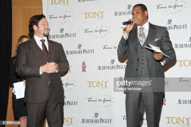 FrancoisHenry Bennahmias and JayZ attend AUDEMARS PIGUET 'Time To Give' Celebrity Watch Auction to Benefit Broadway Cares / Equity Fights AIDS...