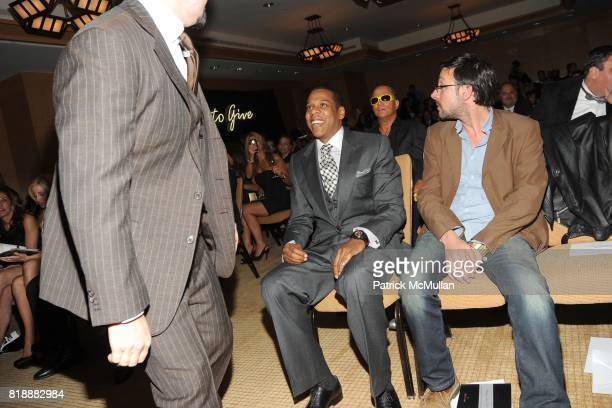 FrancoisHenry Bennahmias JayZ and Mark Binelli attend AUDEMARS PIGUET 'Time To Give' Celebrity Watch Auction to Benefit Broadway Cares / Equity...
