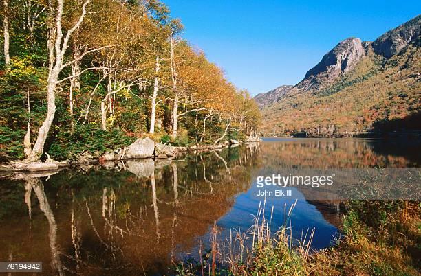 Franconia Notch Profile Lake, New Hampshire, United States of America, North America