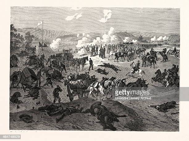 Serving For The Red Cross Is A Highly Demanding Task As Is Portrayed In This Image The Aid Station At Nouart On 29 August 1870 Where The German...