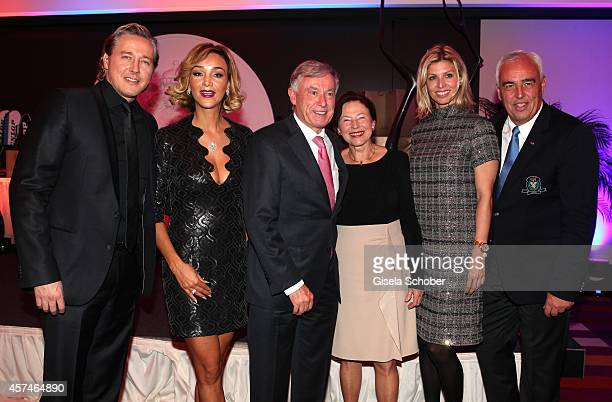 Franjo Pooth Verona Pooth Horst Koehler Eva Luise Koehler Katerina Schroeder and HansReiner Schroeder attend the Monti Memorial Charity Gala at Hotel...