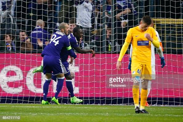 Rsc Anderlecht v Apoel Nicosia - UEFA Europa League : News Photo