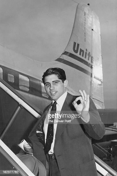 AUG 8 1960 DEC 19 1954 Frank Bernardi fine backfield star for the university of Colorado left Denver Friday for San Francisco where he will start...