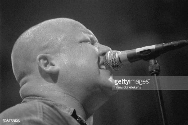 Frank Black guitarvocal performs at the Paradiso on 10th June 1996 in Amsterdam Netherlands