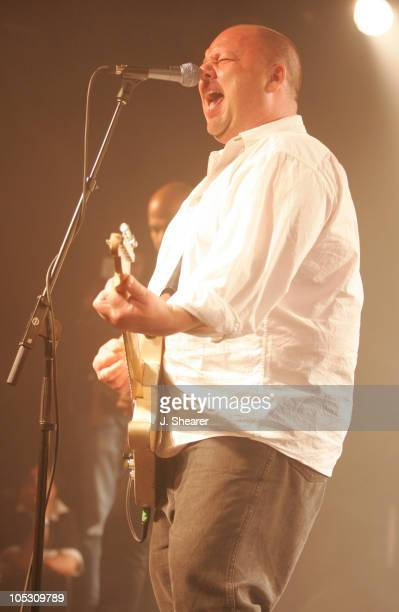 Frank Black of The Pixies during 2004 Coachella Valley Music Festival PreParty with The Pixies at The Glass House in Pomona California United States