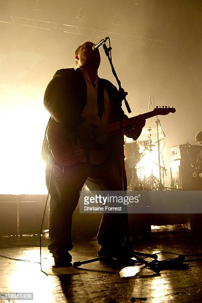 Frank Black of the Pixies during Pixies in Concert at Manchester Carling Apollo August 30 2005 at Carling Academy in Manchester Great Britain