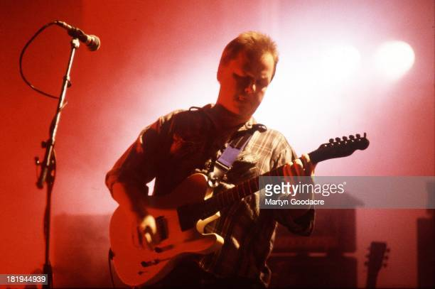 Frank Black of the Pixies performs on stage at Crystal Palace Bowl London 8th June 1991