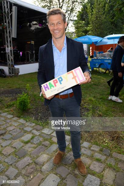 Frank Briegmann attends the 70th anniversary party of Budde Music on July 13 2017 in Berlin Germany