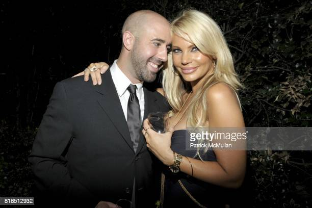 Frank Cascio and Gabrielle Tuite attend Eric Lerner Frank Cascio Celebrate their birthdays with Host Sean Parker and CoHosts Denise Rich Romero...
