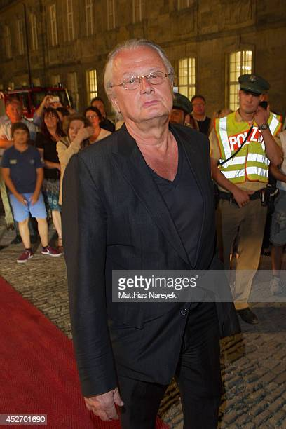 Frank Castorf attends the Bayreuth Festival Opening State Banquet on July 25 2014 in Bayreuth Germany