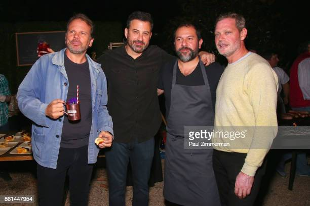 Frank Castronovo Jimmy Kimmel Enrique Olvera and Frank Fallcinelli attend the Jimmy Kimmel Live Welcome to Brooklyn kickoff hosted by SMIRNOFF vodka...