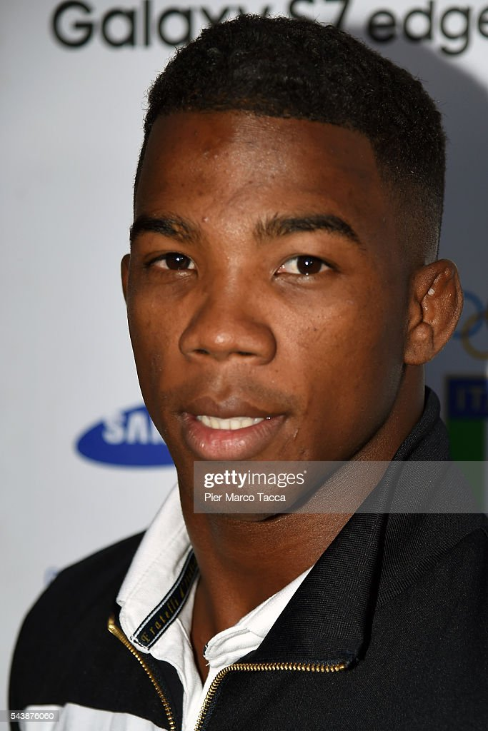 Frank Chamizo Marquez attends during the Samsung Galaxy Team press conference on June 30, 2016 in Milan, Italy.