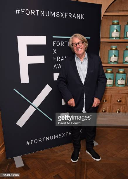 Frank Cohen attends the Fortnum's x Frank private viewing at Fortnum Mason on September 27 2017 in London England