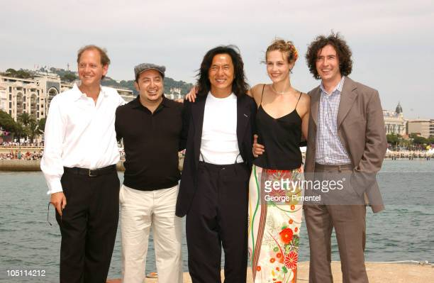 Frank Coraci director Jackie Chan Cecile de France and Steve Coogan