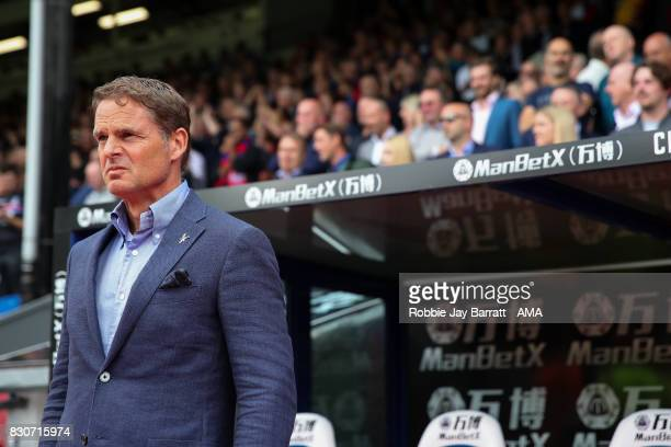 Frank de Boer head coach / manager of Crystal Palace during the Premier League match between Crystal Palace and Huddersfield Town at Selhurst Park on...
