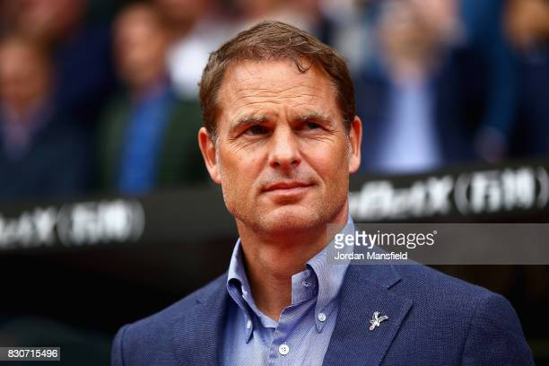 Frank de Boer Manager of Crytal Palace looks on prior to the Premier League match between Crystal Palace and Huddersfield Town at Selhurst Park on...