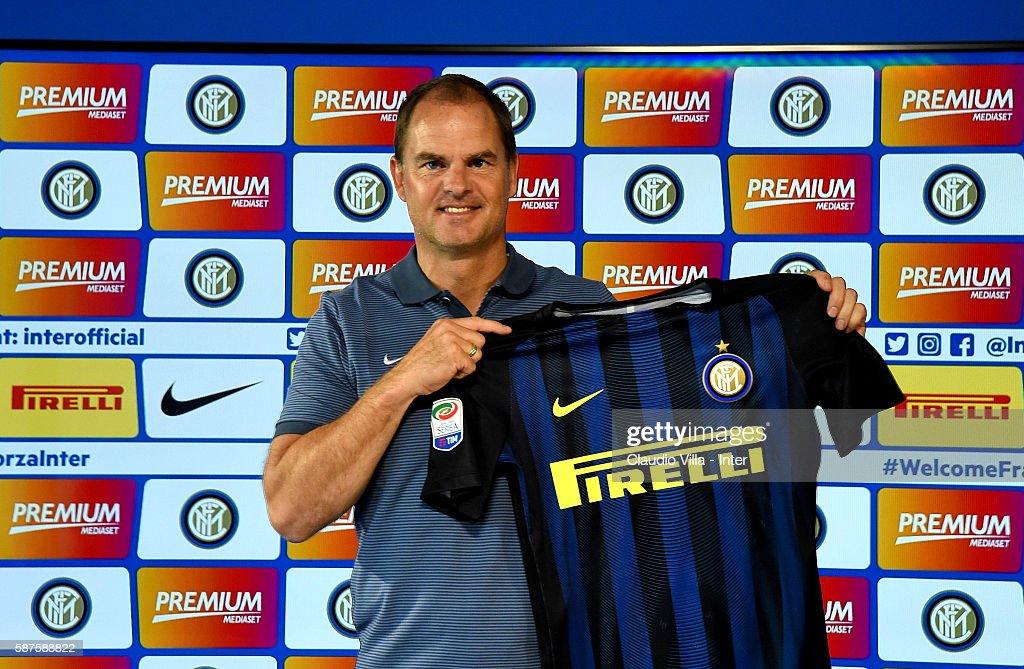 FC Internazionale Unveils New Coach Frank De Boer