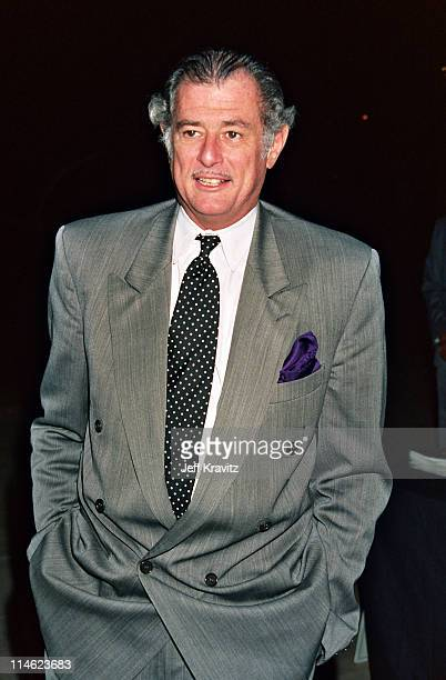 Frank Deford during Screening of Arthur Ashe Citizen of the World at Mann Theater in Westwood CA United States
