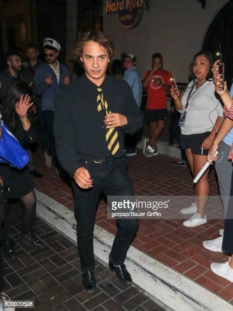 Frank Dillane is seen on July 21 2017 in San Diego California