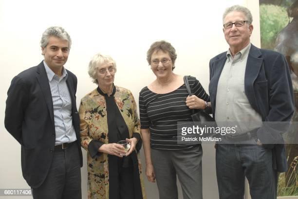 Frank Elbaz Shirley Berman Rosamund Felsen and Stuart Levin attend SHE Images of women by Wallace Berman and Richard Prince Opening at Michael Kohn...