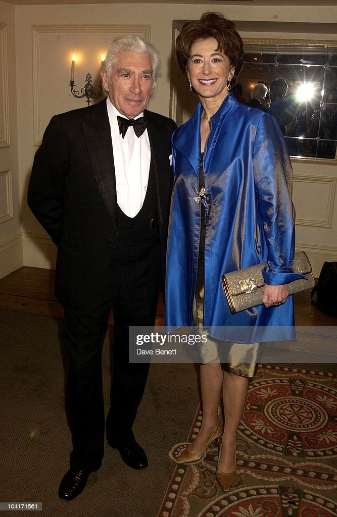 Frank Finlay And Maureen Lipman, The Evening Standard Film Awards, At The Savoy Hotel In London
