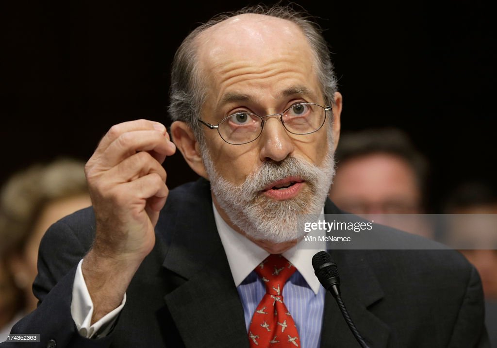 Frank Gaffney, founder and president of the Center for Security Policy, testifies during a hearing of the Senate Judiciary Committee July 24, 2013 in Washington, DC. The committee heard testimony from the panelists on 'Closing Guantanamo: The National Security, Fiscal, and Human Rights Implications.'