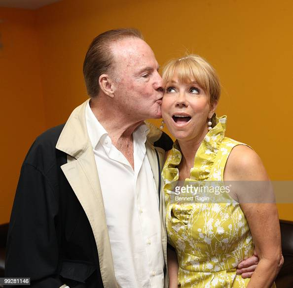 Frank Gifford and Kathie Lee Gifford attend an afternoon with Kathie Lee Gifford at Azure on May 13 2010 in New York City