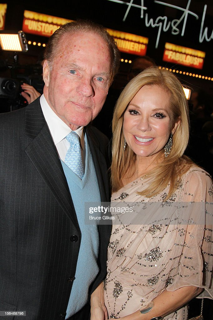 Frank Gifford and Kathie Lee Gifford attend the opening night of 'Scandalous' on Broadway at the Neil Simon Theatre on November 15, 2012 in New York City.