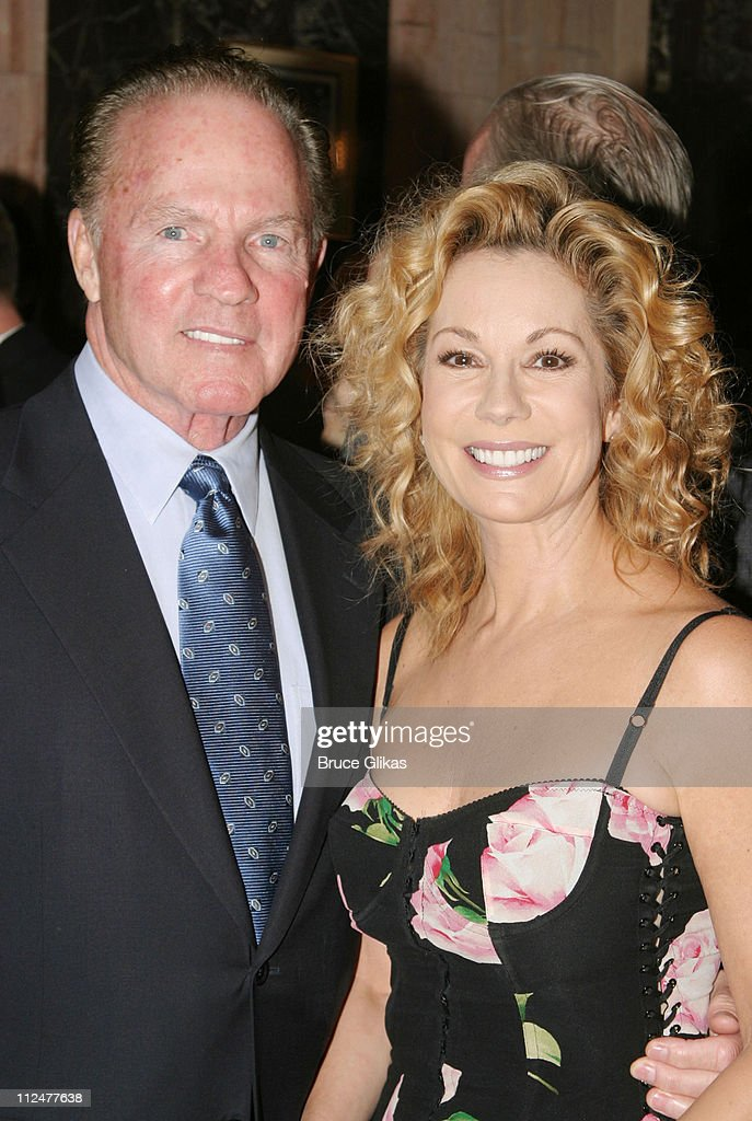 Frank Gifford and Kathie Lee Gifford during Opening Night of 'The Boy From Oz' - Arrivals and After Party at The Imperial Theater and Copacabana Nightclub in New York City, New York, United States.