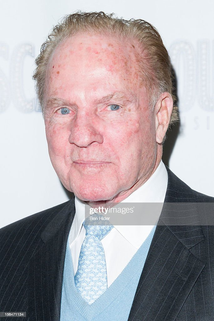 Frank Gifford attends the 'Scandalous' Broadway Opening Nightat Neil Simon Theatre on November 15, 2012 in New York City.
