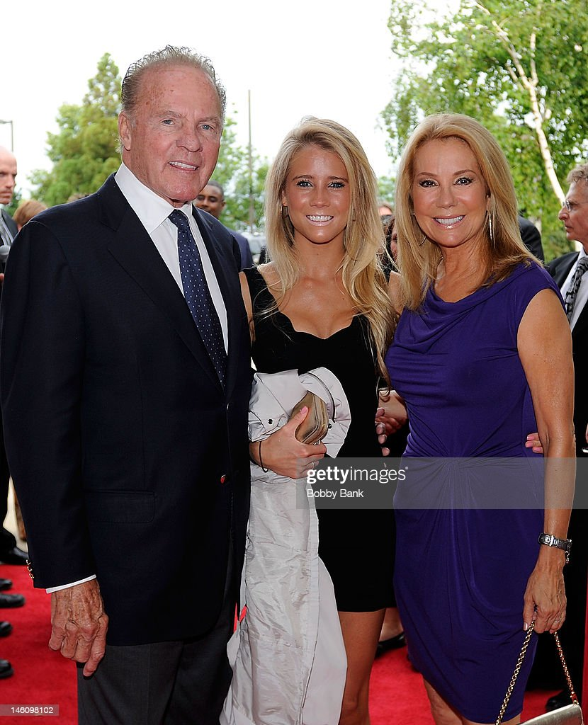 Frank Gifford, Cassidy Gifford and Kathie Lee Gifford attend The 5th Annual New Jersey Hall Of Fame Induction Ceremony at New Jersey Performing Arts Center on June 9, 2012 in Newark, New Jersey.