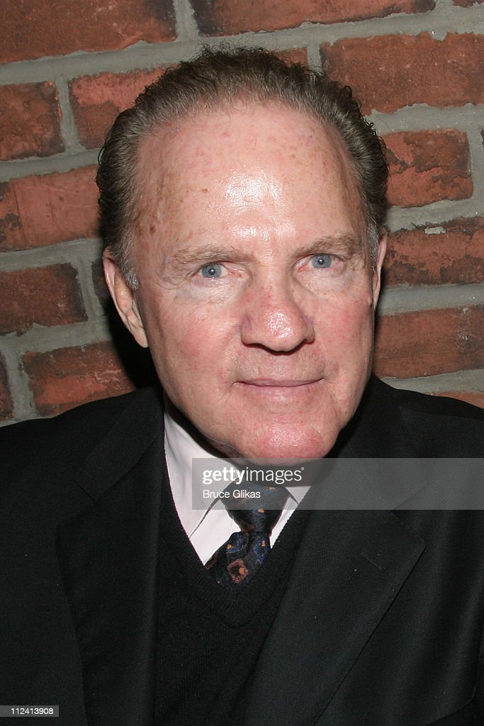 Frank Gifford during Kathie Lee Gifford's New Musical 'Under The Bridge' - Opening Night Afterparty at The Zipper Theater in New York, New York, United States.