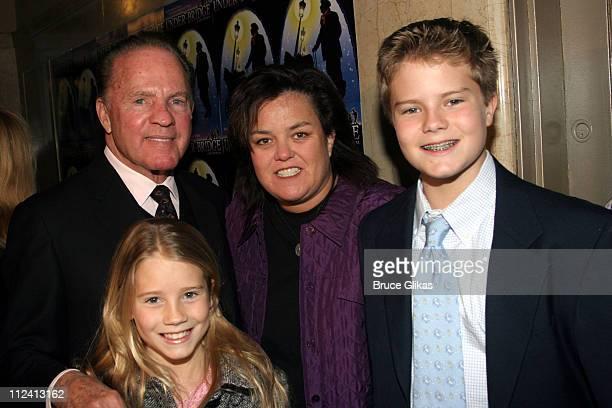 Frank Gifford Rosie O'Donnell Cassidy Gifford and Cody Gifford