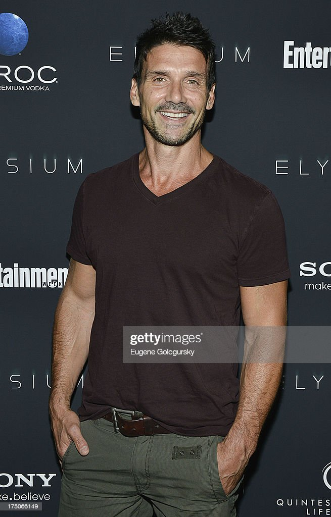 <a gi-track='captionPersonalityLinkClicked' href=/galleries/search?phrase=Frank+Grillo&family=editorial&specificpeople=1752839 ng-click='$event.stopPropagation()'>Frank Grillo</a> attends 'Elysium' New York Screening at Landmark's Sunshine Cinema on July 30, 2013 in New York City.