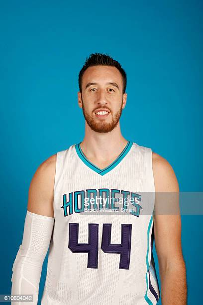 Frank Kaminsky III of the Charlotte Hornets poses for a head shot during the 20162017 Charlotte Hornets Media Day at the Time Warner Cable Arena on...