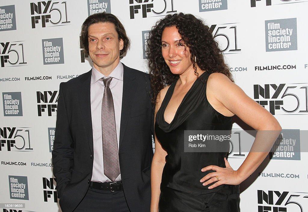 Frank Keraudren and Allison Berg attend the 'Jimmy