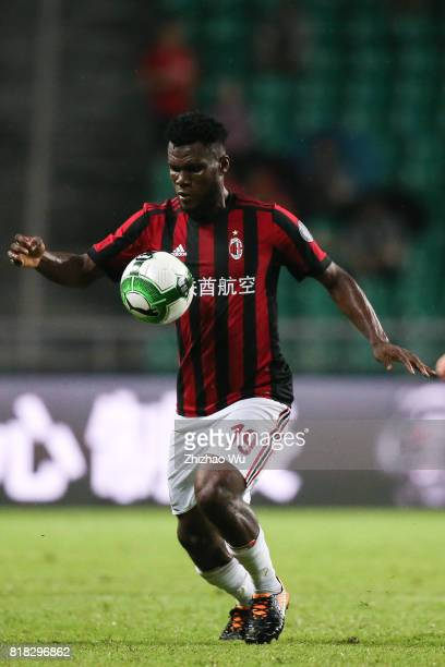 Frank Kessie of AC Milan at University Town during the 2017 International Champions Cup football match between AC milan and Borussia Dortmund Sports...