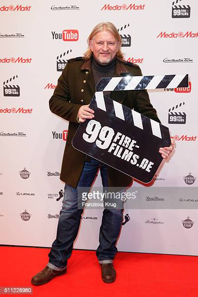 Frank Kessler attends the 99FireFilmAward 2016 at Admiralspalast on February 18 2016 in Berlin Germany