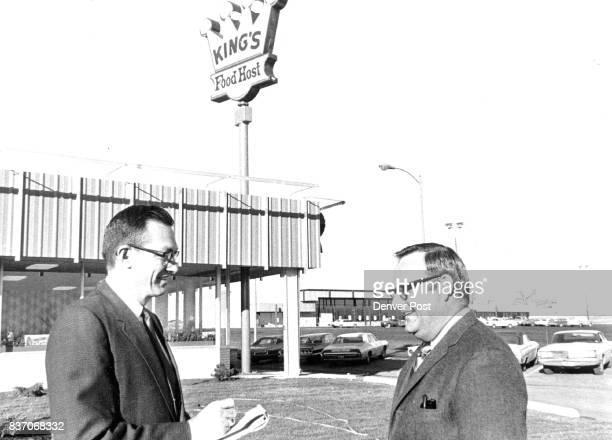 S FOOD HOST RESTAURANT OPENS AT 1997 S WADSWORTH BLVD Frank Krone left company vice president and Ken Vosika managerinvestor Credit Denver Post