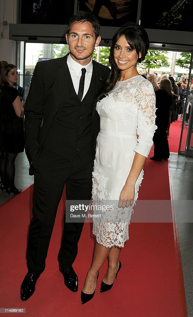 Frank Lampard and Christine Bleakley arrive at the 2011 National Movie Awards held at Wembley Arena on May 11 2011 in London England