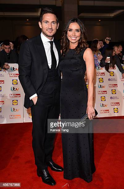 Frank Lampard and Christine Bleakley attend the Pride of Britain awards at The Grosvenor House Hotel on October 6 2014 in London England