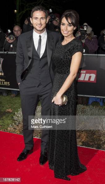 Frank Lampard and Christine Bleakley attend the Sun Military Awards at Imperial War Museum on December 6 2012 in London England