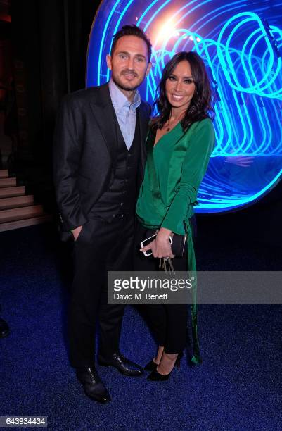Frank Lampard and Christine Bleakley attend The Warner Music Ciroc Brit Awards After Party on February 22 2017 in London England