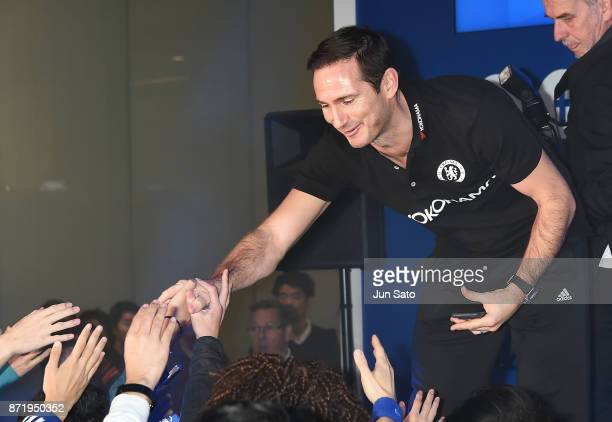 Frank Lampard attends the Chelsea FC supporters' event on November 9 2017 in Tokyo Japan