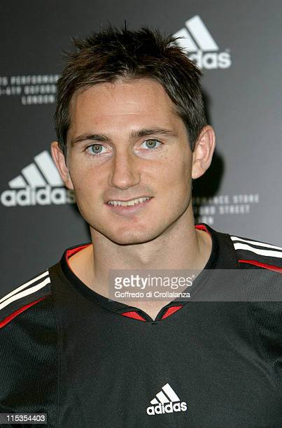 Frank Lampard during Launch of First Adidas Sports Performance Store in London at Adidas Store in London Great Britain