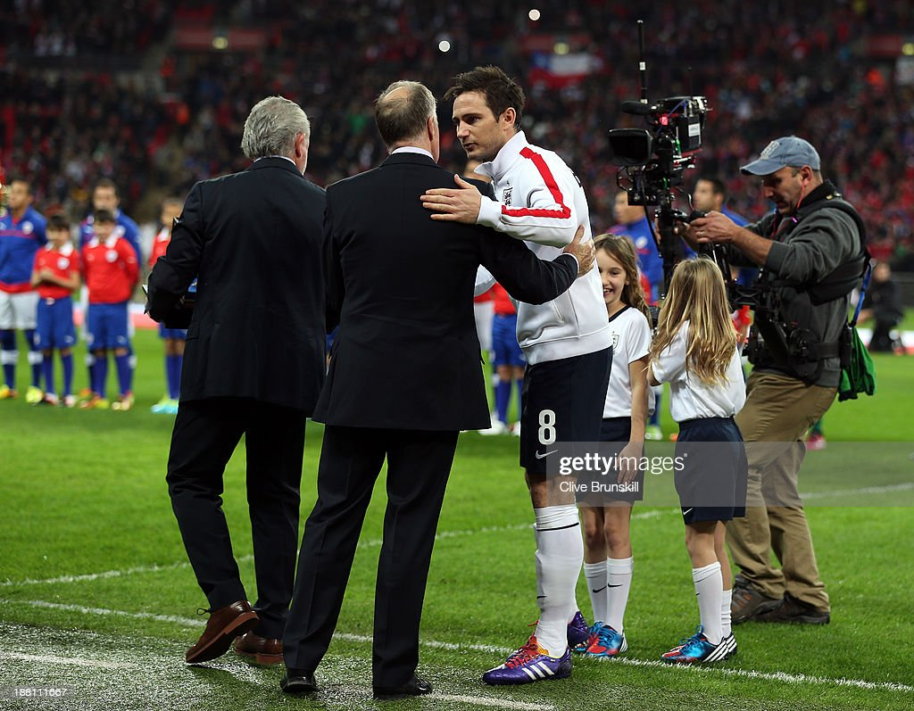 England v Chile - International Friendly