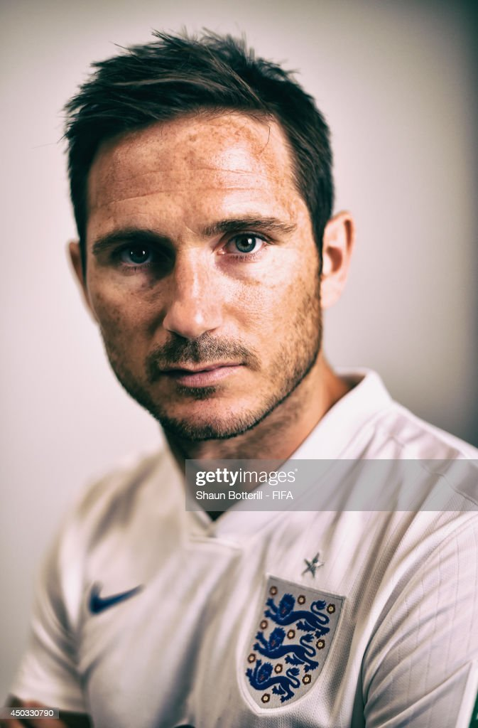 Frank Lampard of England poses during the official FIFA World Cup 2014 portrait session on June 8 2014 in Rio de Janeiro Brazil