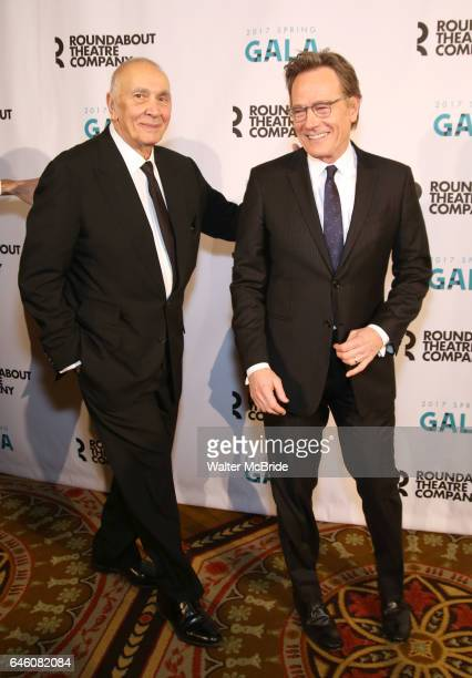 Frank Langella and Bryan Cranston attend the Roundabout Theatre Company's 2017 Spring Gala 'Act ii Setting the Stage for Roundabout's Future' at the...